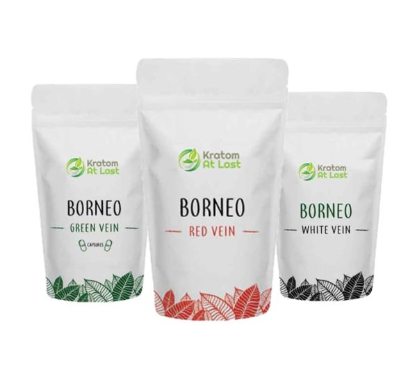 Borneo Kratom 3 Ounce Sample Pack