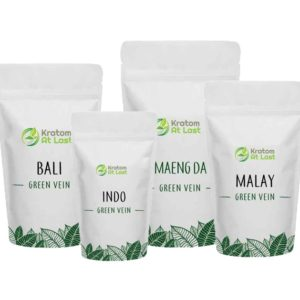 Green Vein Kratom 4 Ounce Sample Pack