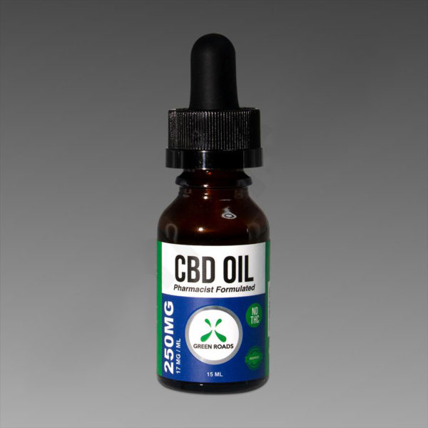 Green Roads Oil 250mg 15ml