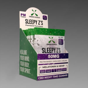 Green Roads 50mg Sleepy Z's 10ct