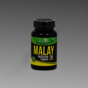Kratom Kaps - Malay 35g Powder in Bottle
