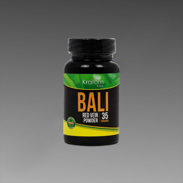 Kratom Kaps - Bali 35g Powder in Bottle