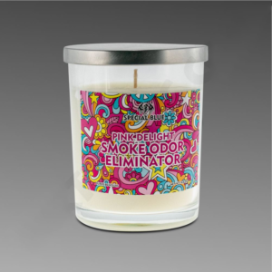 Special Blue Pink Delight Candle 13oz