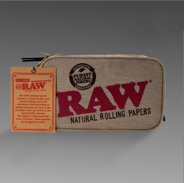 Raw Smell Proof Bag Full Ounce