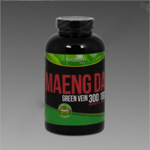 Kratom Kaps - Maeng Da 180g, 300 Count Bottle