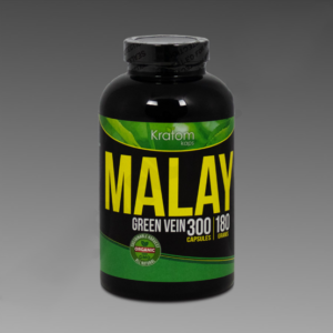 Kratom Kaps; Malay 180g, 300 Count Bottle