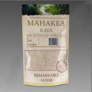 Mahakea Kava 3 oz Lateral Root Powder by Remarkable Herbs