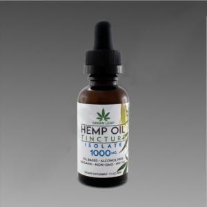 Green Leaf Tincture 1000mg Isolate 30ml Oil Based