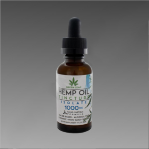 Green Leaf Tincture 1000mg Isolate 30ml Water Based