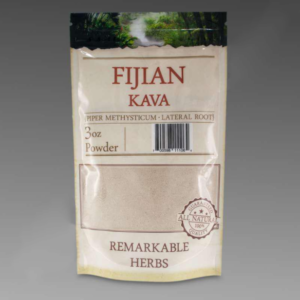 Fijian Kava 3 oz Lateral Root Powder by Remarkable Herbs