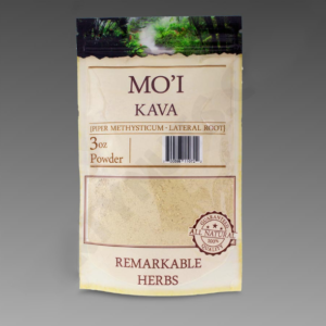 Mo'i Kava 3 oz Lateral Root Powder by Remarkable Herbs