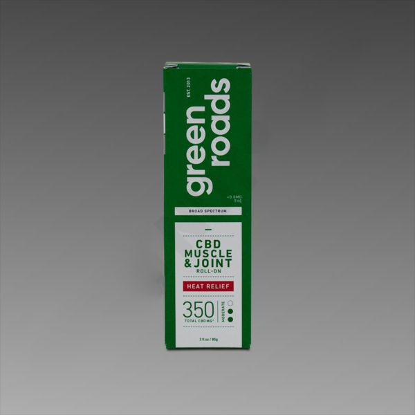 Green Roads Muscle & Joint Heat Relief 350mg